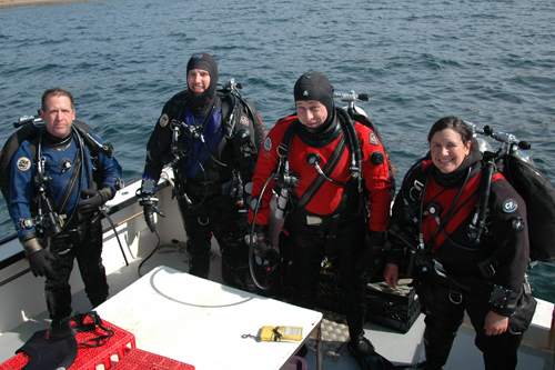 training divers